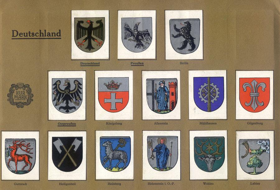 гербы городов мира